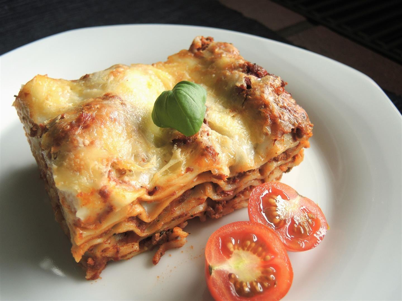 Lasagne Vorbereiten Und Später Backen