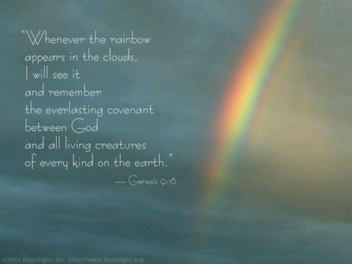 Rainbow Bible Verse Bible Verse Pictures Rainbow Bible Rainbow Quote