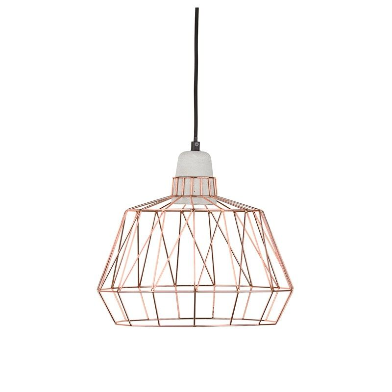 Creton Maison Elton Loftlampe in Schwarz, Beton oder Marmor Maße:Ø 35 X H 25 cm Preis: 81 Euro