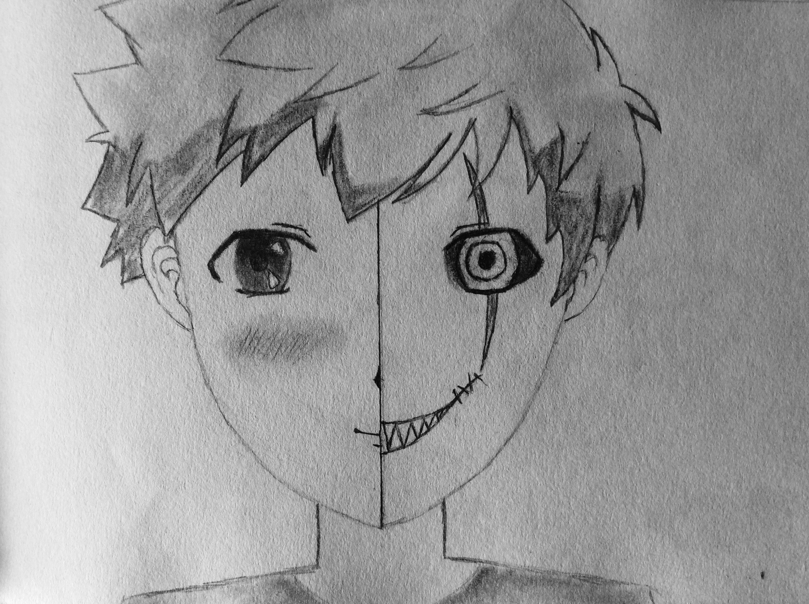 Line Drawing Boy : How to draw manga boys steps with pictures wikihow