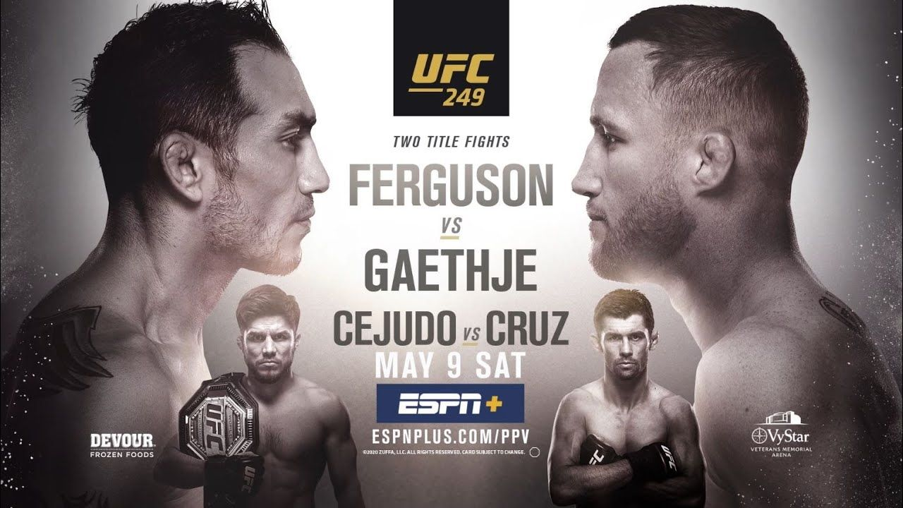 Ufc 249 Giveaway Win 1 Year Of Mma Picks Ufc Ufc Fight Night Ufc Events
