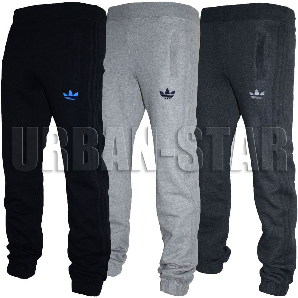 adidas fleece joggers xl