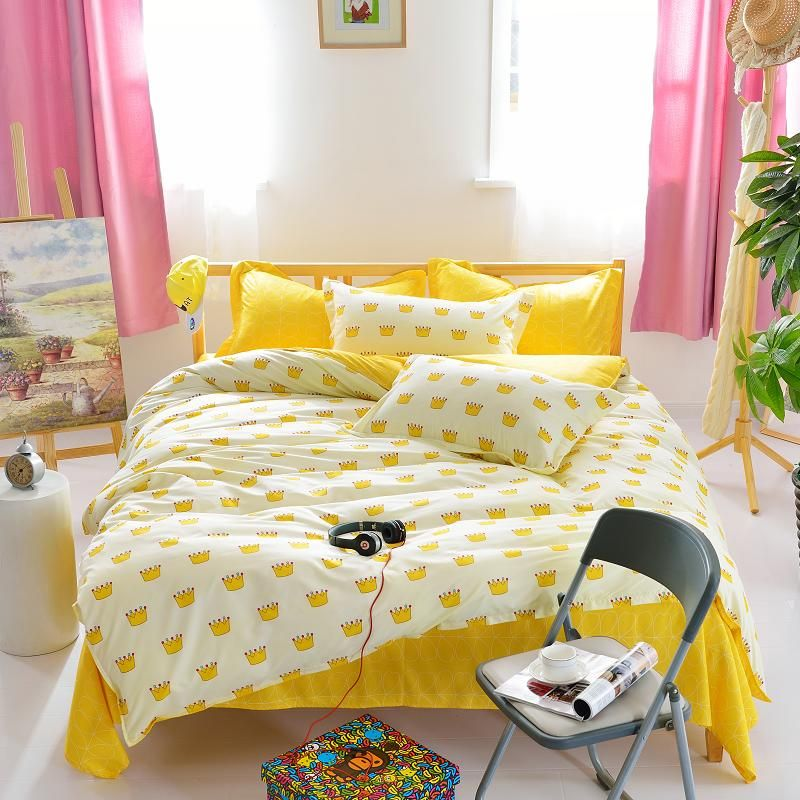 bedding set Autumn style duvet cover twin Full Queen