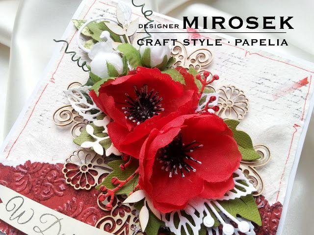Slub Bialo Czerwony Papelia Blog Crafts Gift Wrapping Gifts