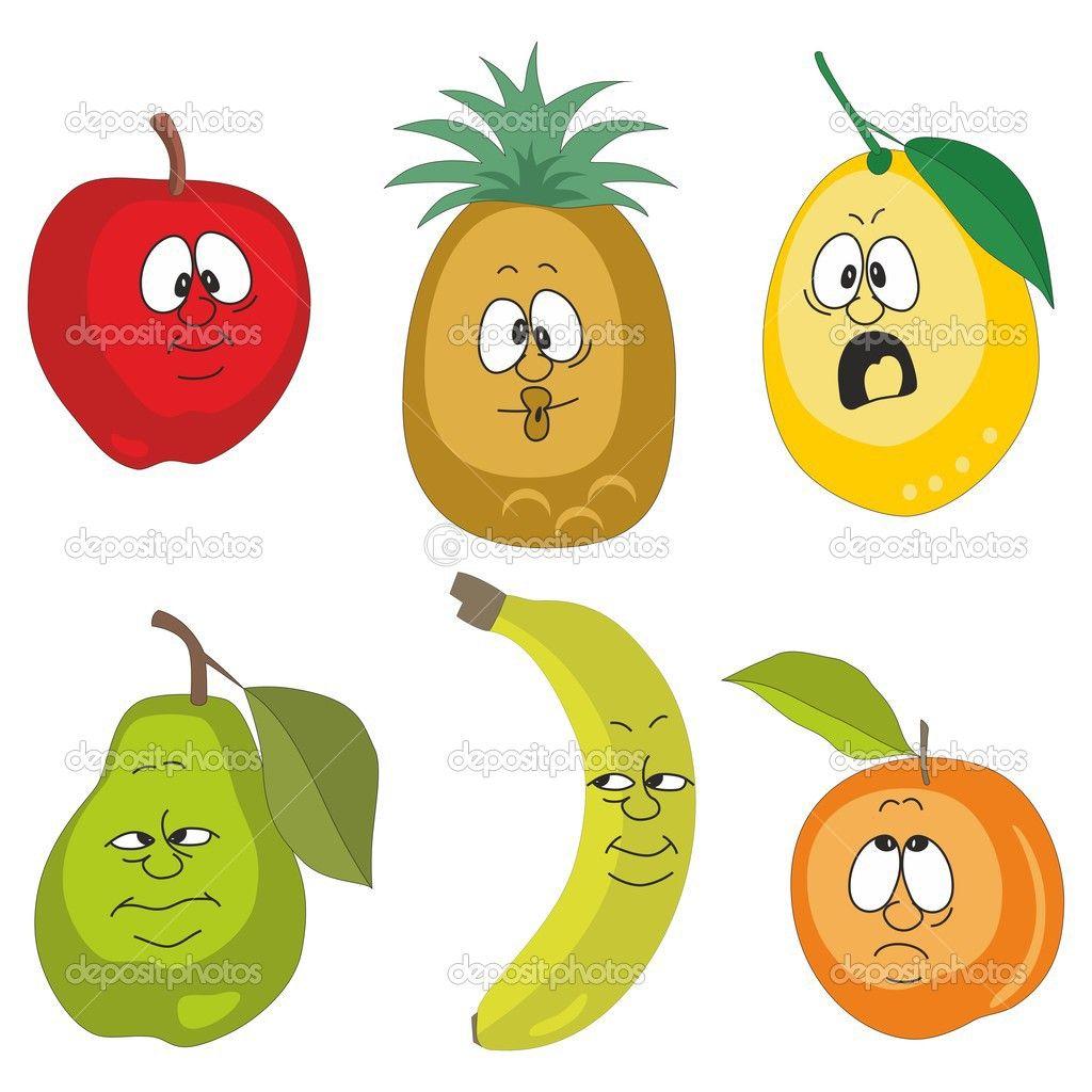 depositphotos 24179553 stock photo emotion cartoon fruits set 001