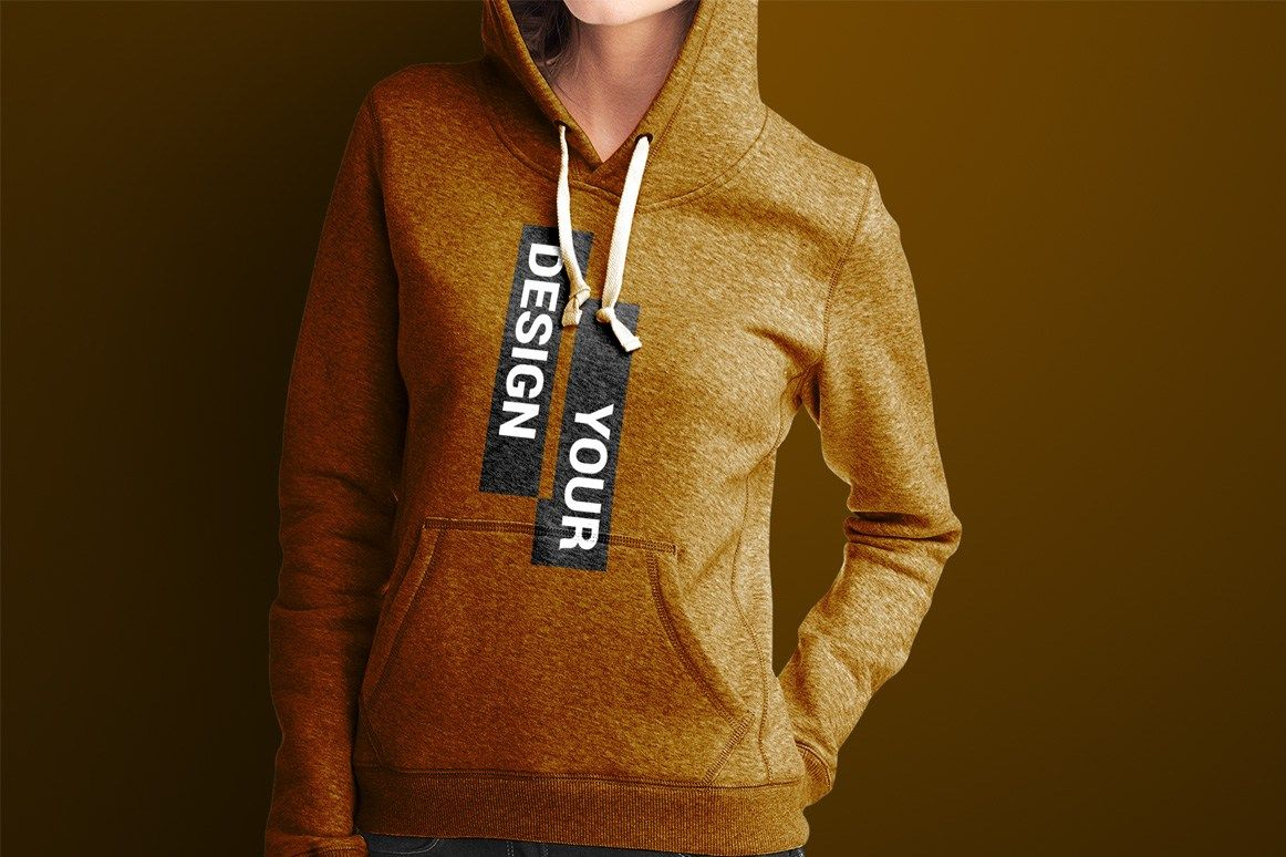 Download Feel Free To Download This Hoodie Mockup Psd Template This Is An Ideal Choice For Your Next Presentation It Comes With The Smart Objects So You Can Easily Res