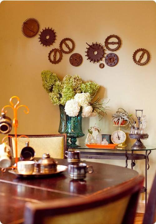 ideas y trucos para decorar la casa  Ideas Divertidas para la - decoracion de paredes