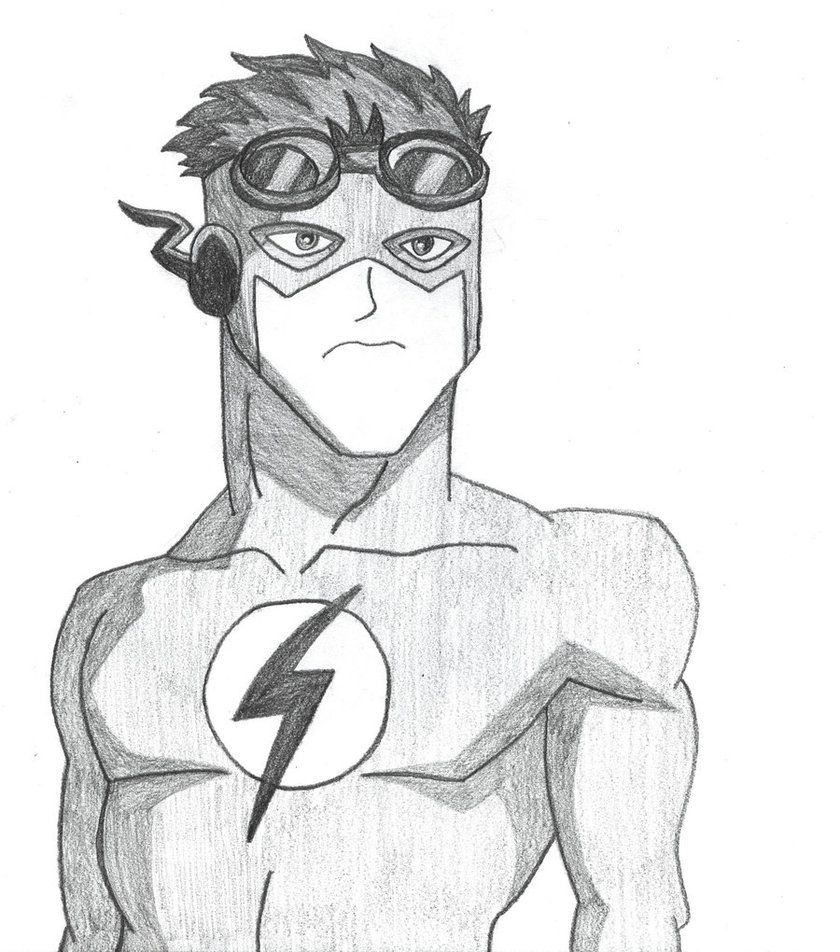 Young Justice Kid Flash By MMCreations