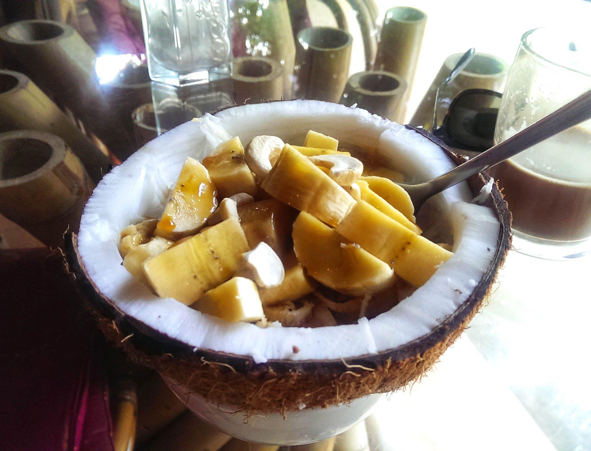 Yellow Flower Cafe Penestanan, Ubud Set in leafy