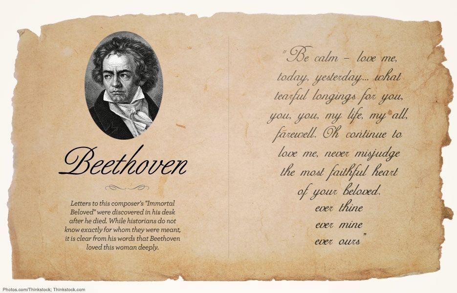 Beethoven love letter sex and the city