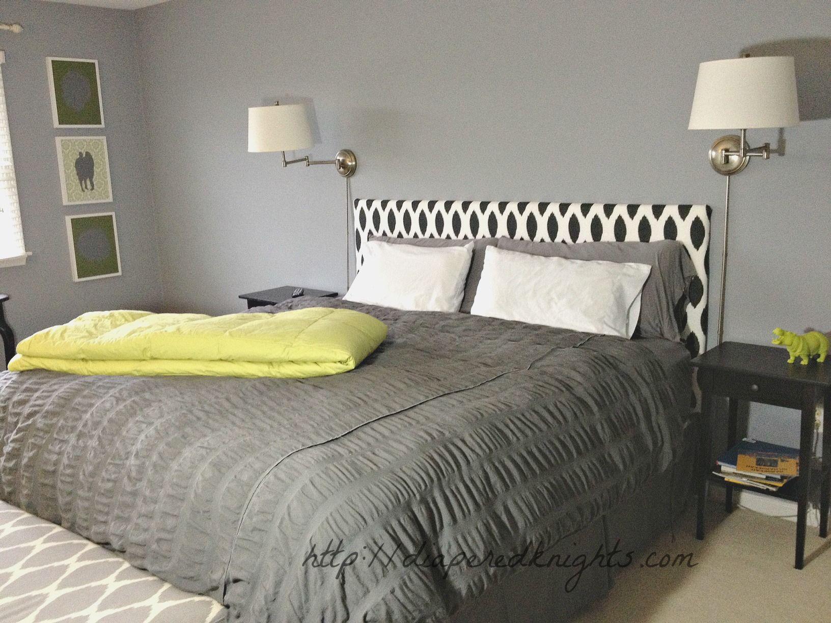 DIY Upholstered Headboard & DIY Upholstered Headboard | Crafting | Pinterest | Al dettaglio e ... pillowsntoast.com