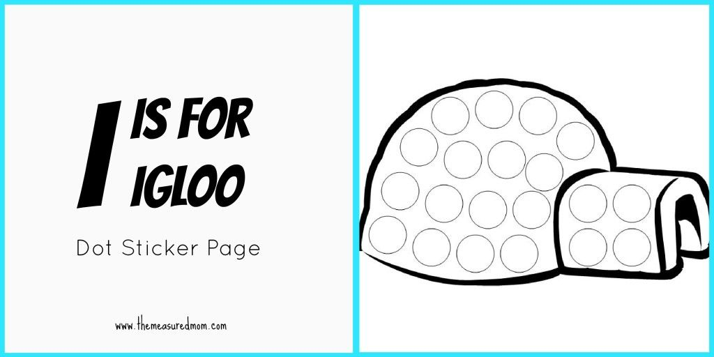 igloo coloring pages teachers - photo#29