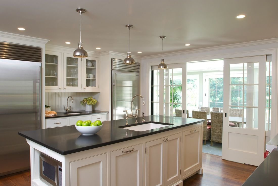 Kitchen Absolute Black Granite Countertops Kitchen Room