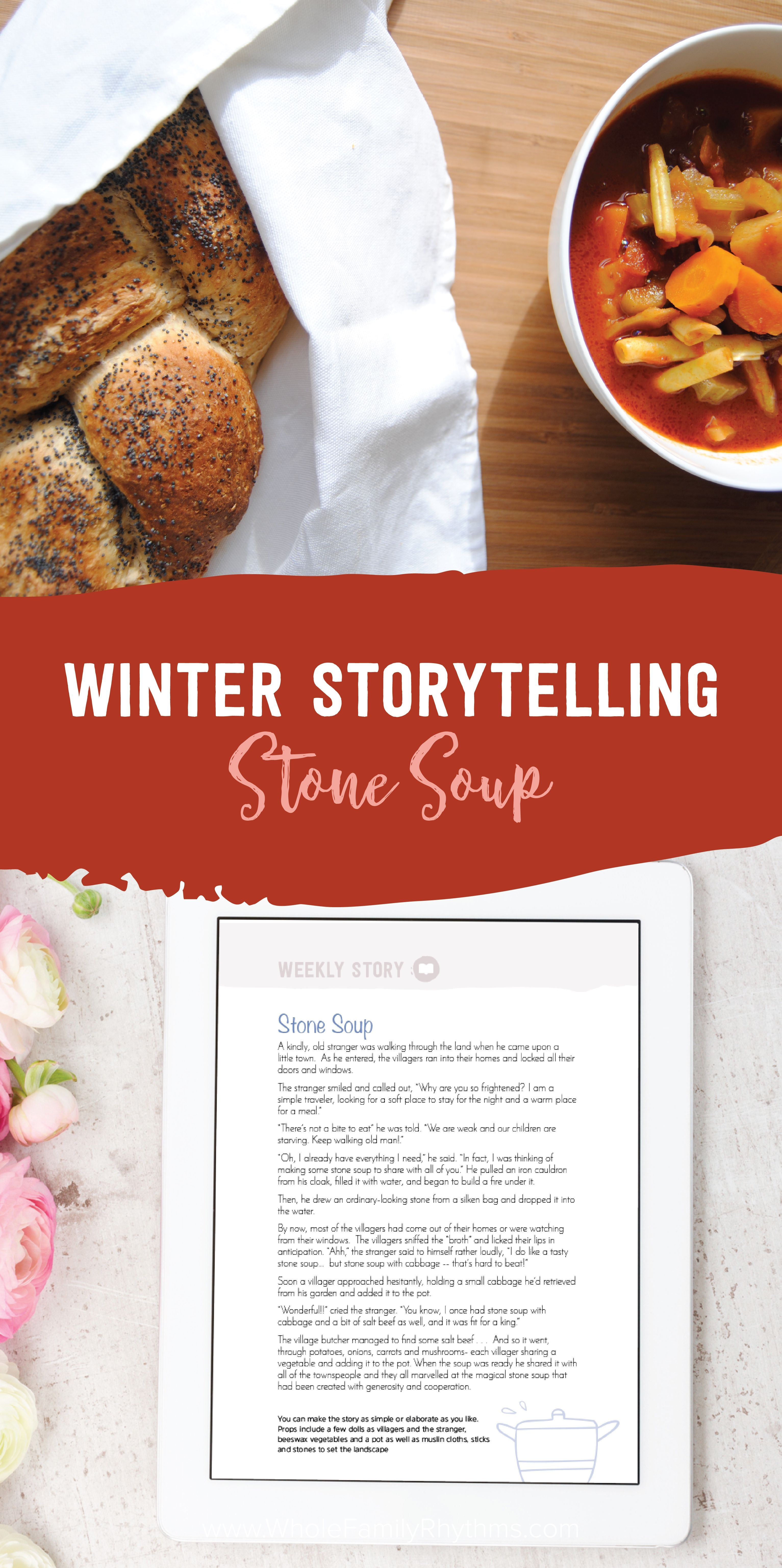 Winter Storytelling Stone Soup