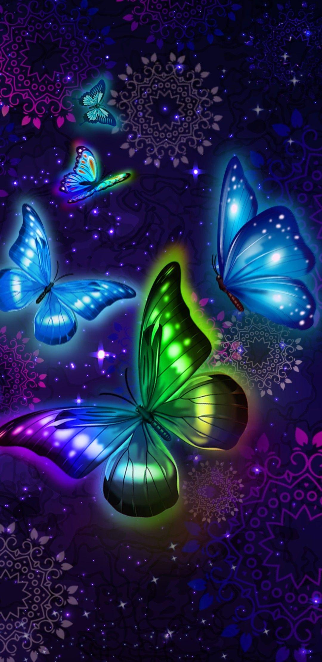 Wallpaper... By Artist Unknown... Butterfly wallpaper