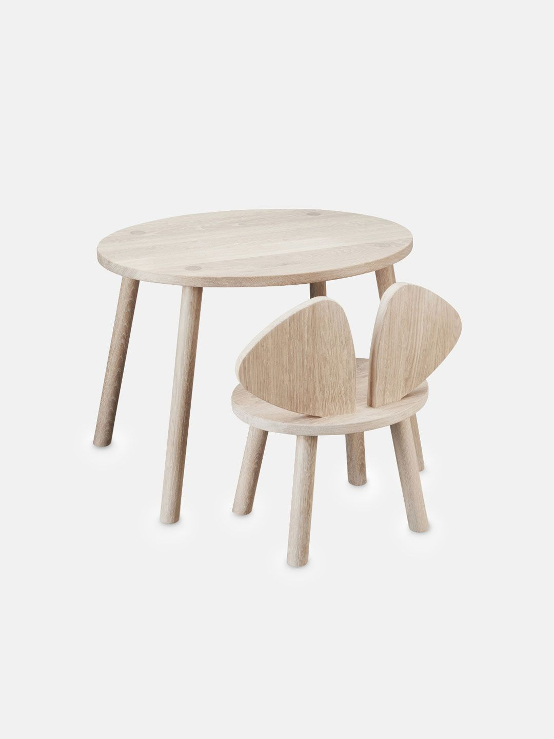 Mouse Table Oak Kids Table Chairs Table Chairs Solid Oak Table