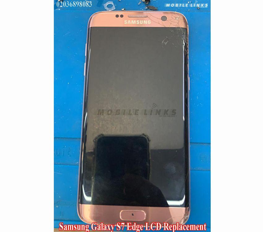 Samsung S7 Edge G932f Lcd Replacement Repair At Mobile Links E13 Samsung Samsung Galaxy S7 Edge S7 Edge