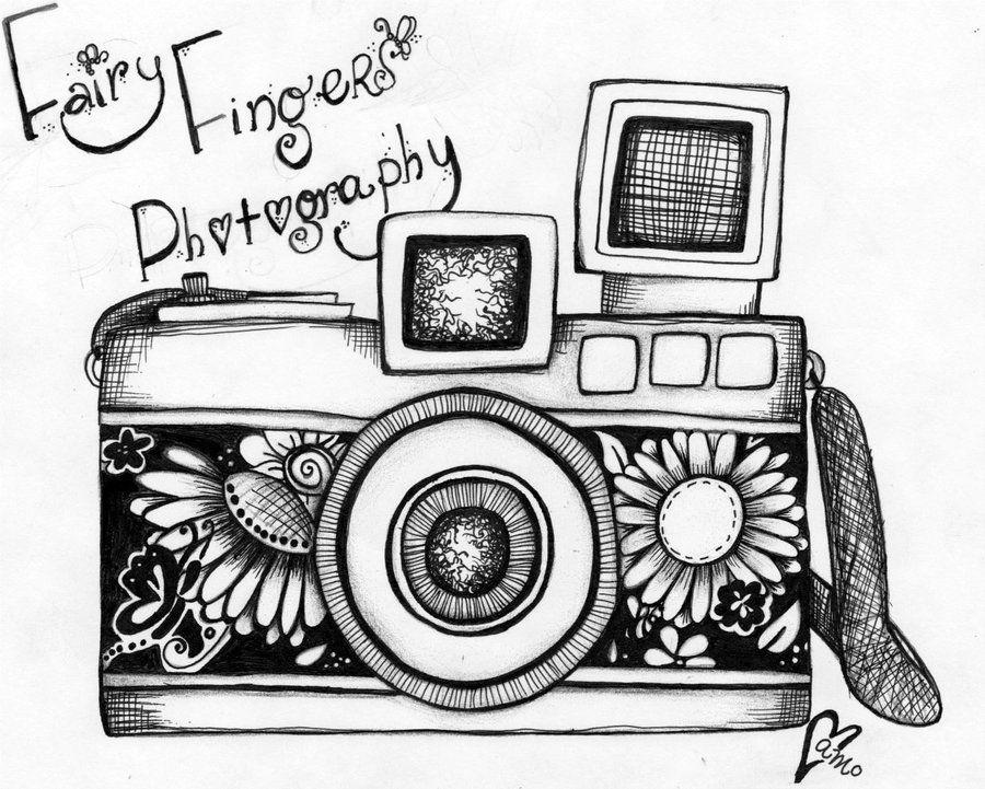 vintage camera drawing | <3 | Pinterest | Camera drawing, Vintage ...