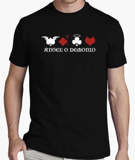 Camiseta Ángel o Demonio Básica - nº 343237 - Camisetas latostadora