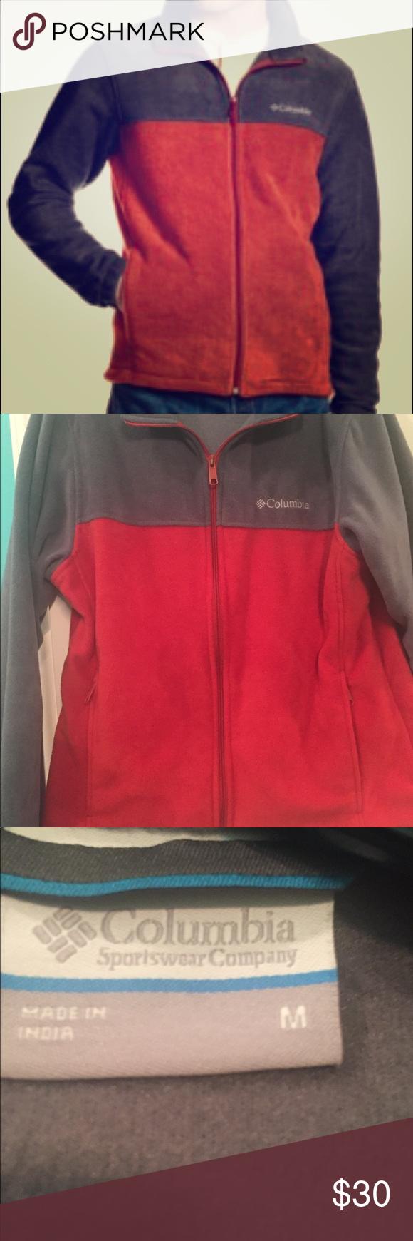 Menus columbia fleece jacket columbia menus jacket and zip