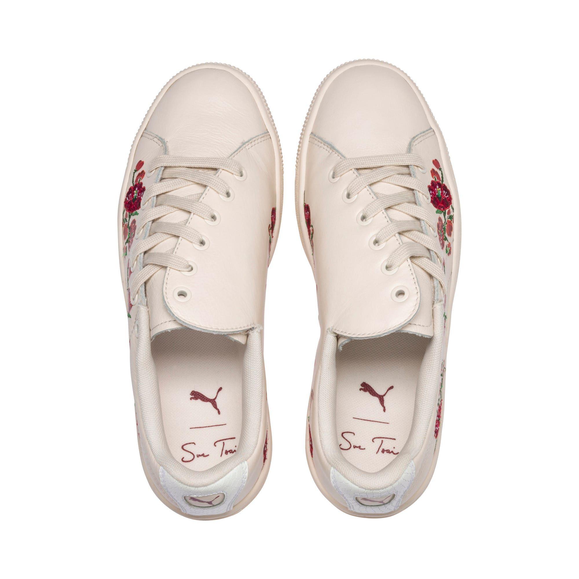 Puma X Sue Tsai Cherry Bombs Women S Shoe Sneakers In Powder Puff Powder Puff Size 3 5 Womens Sneakers Women Shoes Womens Shoes Sneakers
