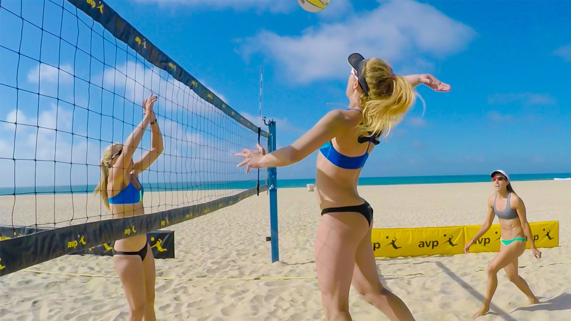 Bikini beach volleyball videos