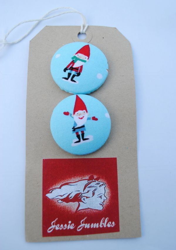 Christmas Elf Buttons- also available as badges | Cool Christmas ...