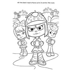 sugar rush coloring pages - photo#41
