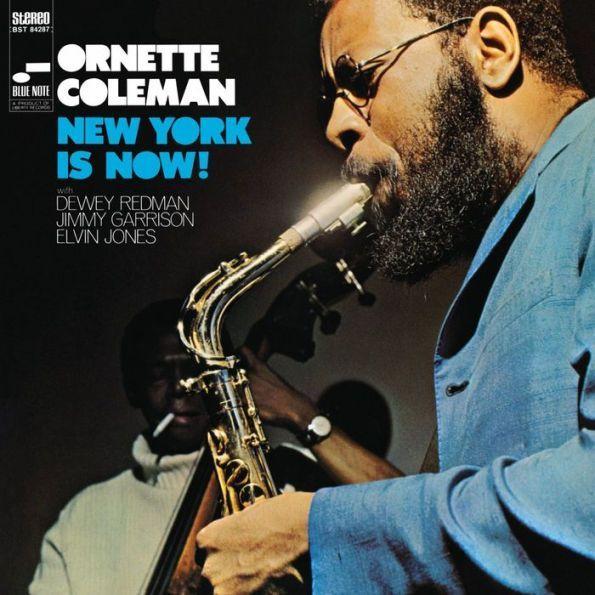 New York Is Now Ornette Coleman Jazz Lp Vinyl