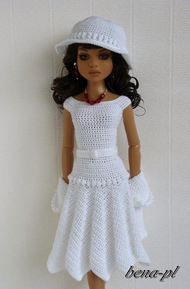 Pin von Cecile Degenaar auf Doll patterns - Small dolls | Pinterest ...
