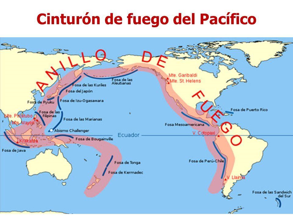 Resultado de imagen de CINTURÓN DE FUEGO