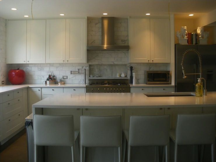 Moth Design - kitchens - Ikea kitchen Cabinets, HanStone ...