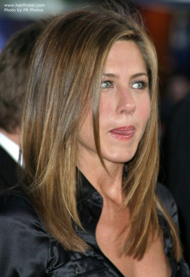 Jennifer Aniston Layered Haicut Jennifer Pinterest Jennifer