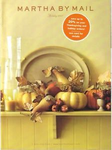 Martha Stewart By Mail Catalog Holiday 2001 Great Condition