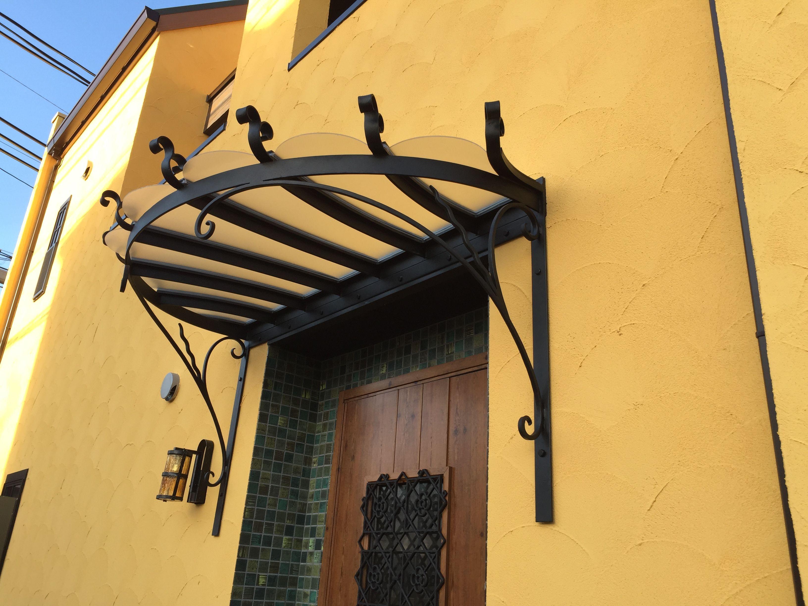 玄関上canopy 庇 玄関庇 玄関 外観
