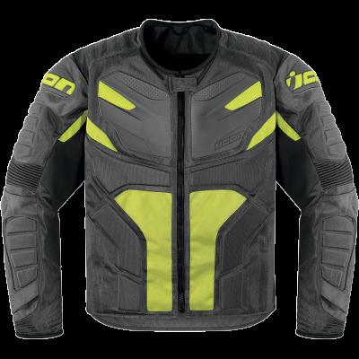 ICON Overlord Resistance Jacket Grey Motorcycle jacket