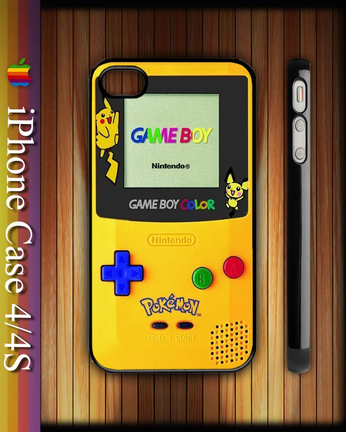 Nice Pokemon Game Boy Apple iPhone 4/4S Hard Case