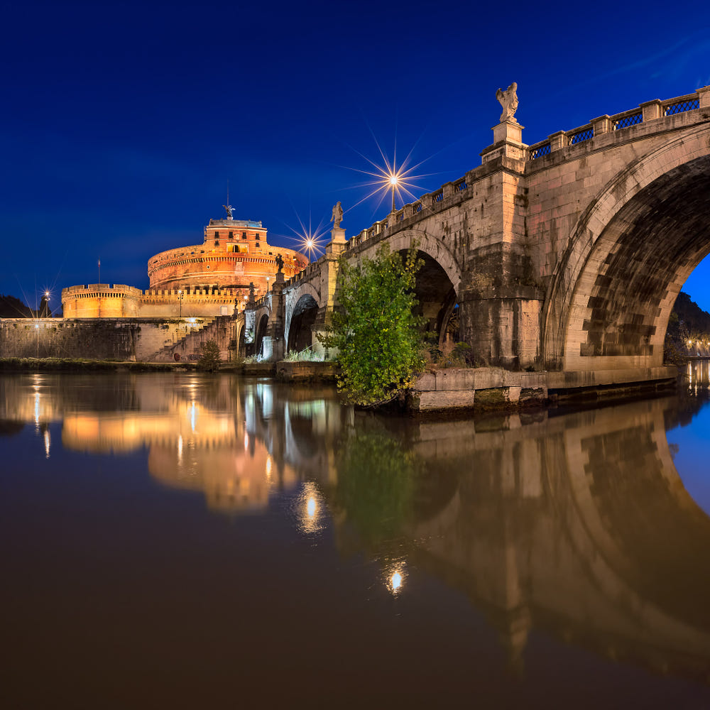 Castel Sant'Angelo in Rome by Andrey Omelyanchuk / 500px