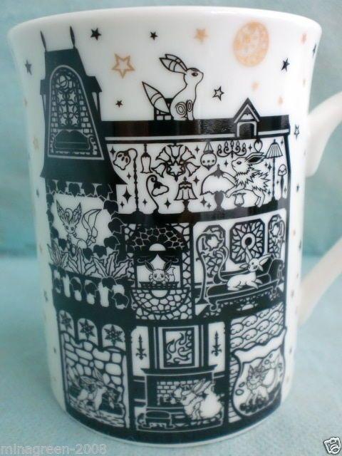 Eevee Eievui Coffee Tea Mug Cup Pokemon Cafe Limited Japan