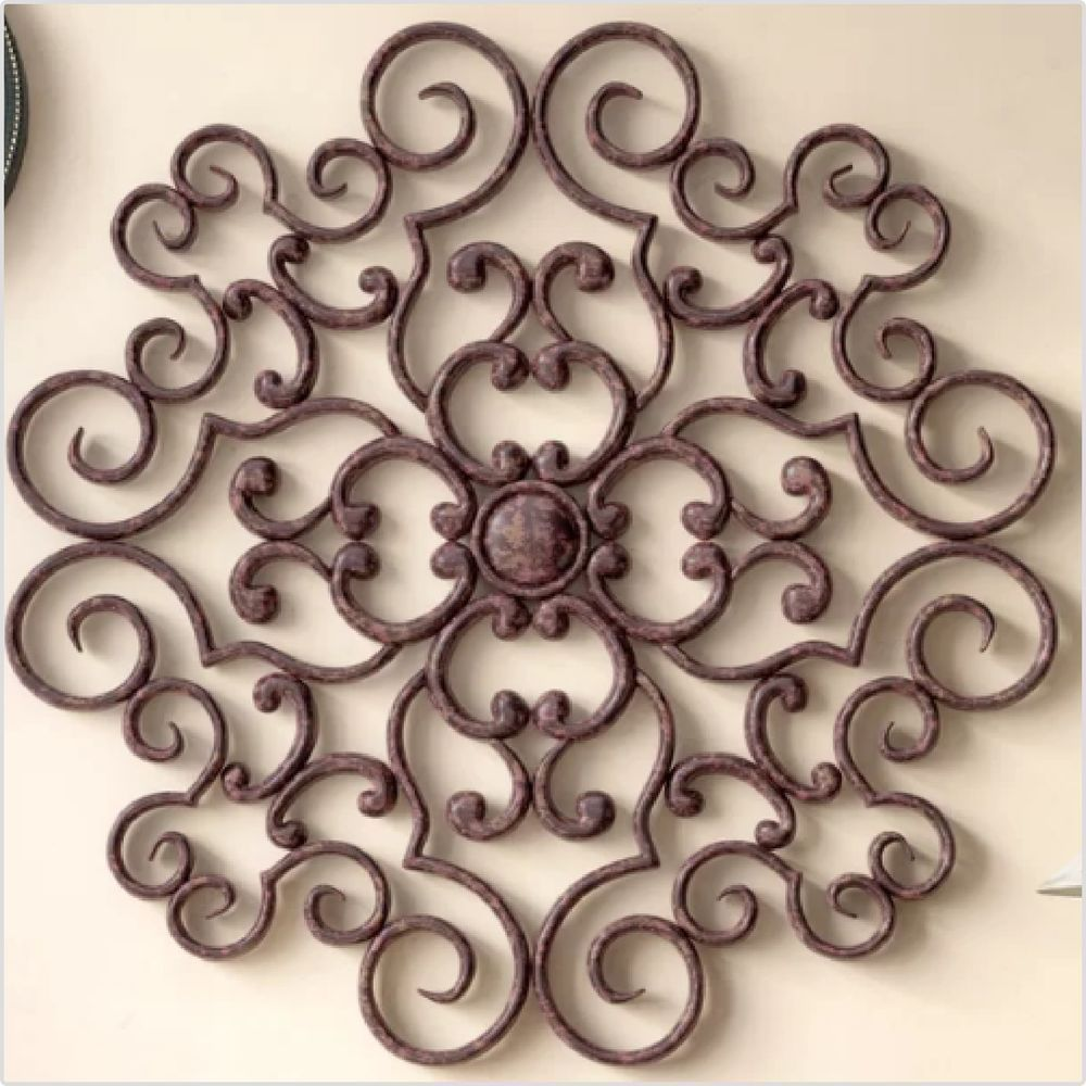 Victorian Vintage Decor Details About Handmade Wrought Iron Wall