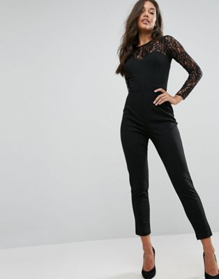 1854609dba9 Lipsy Lace Top Long Sleeve Jumpsuit https   bellanblue.com collections