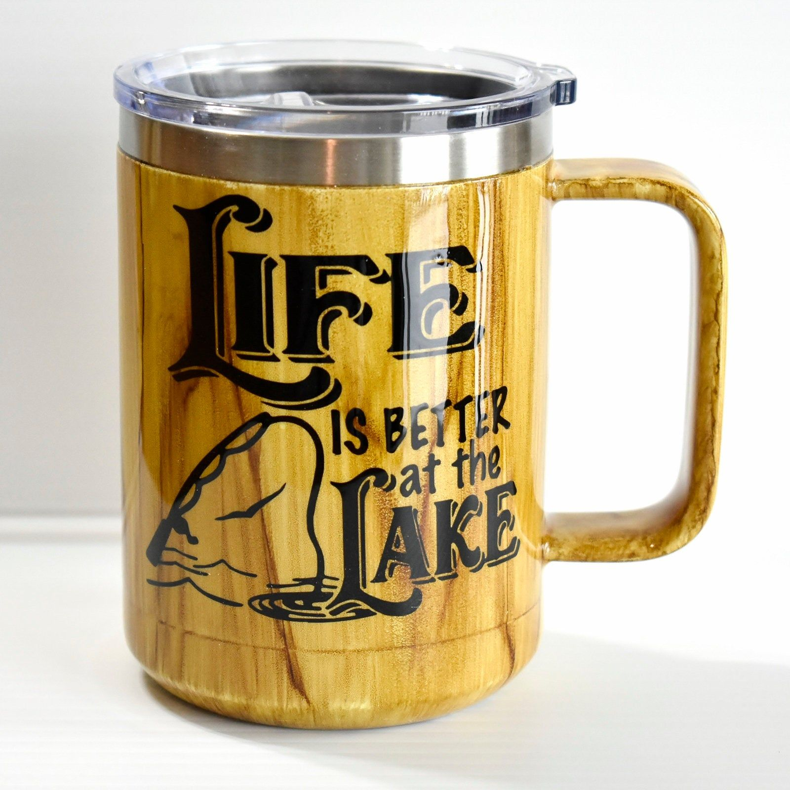 Life is Better at the Lake Coffee Mug Lake Lover Gift