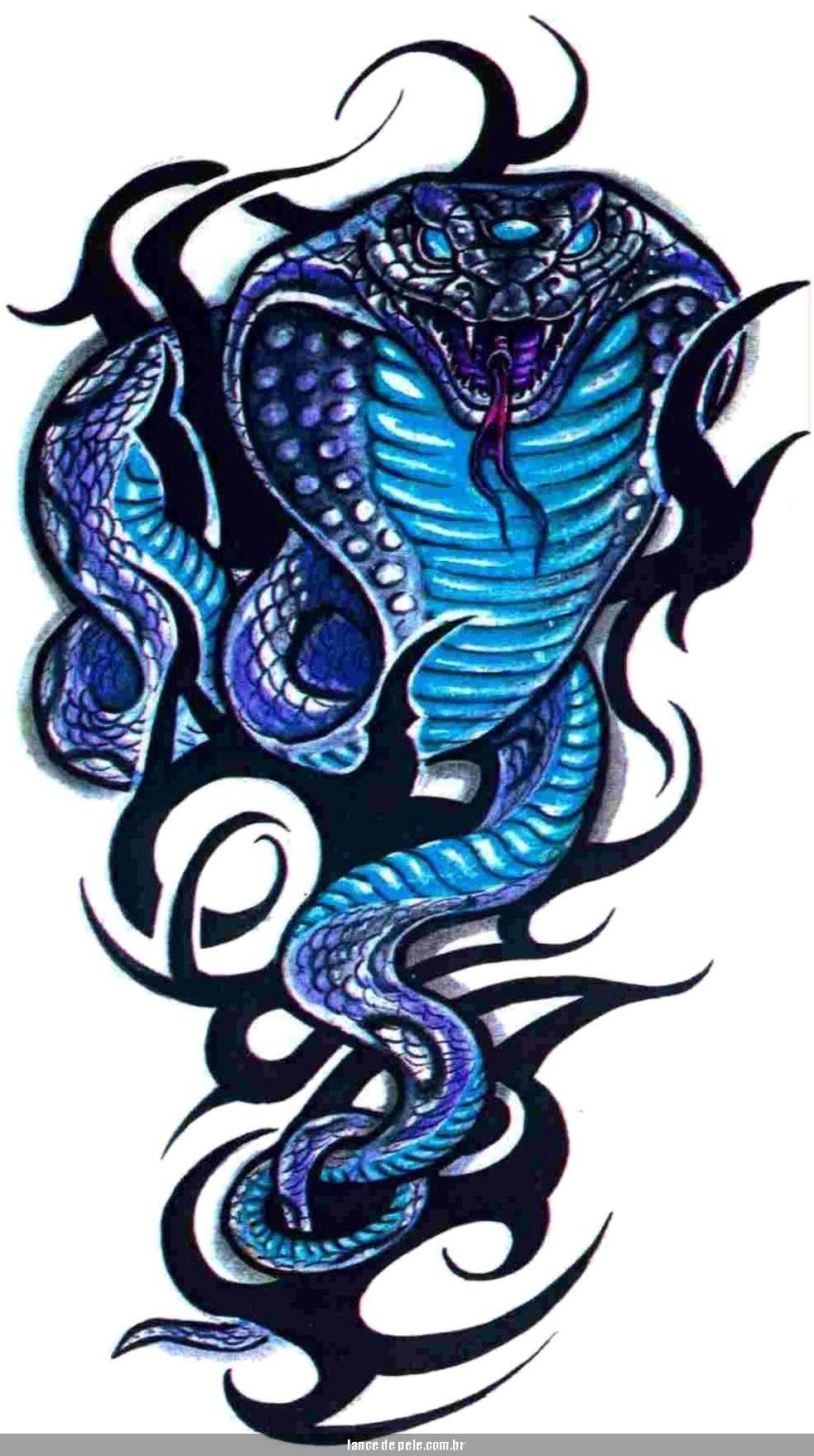 Cobra Snake Tribal Tattoo Page 20 Cobra tattoo, Tattoos