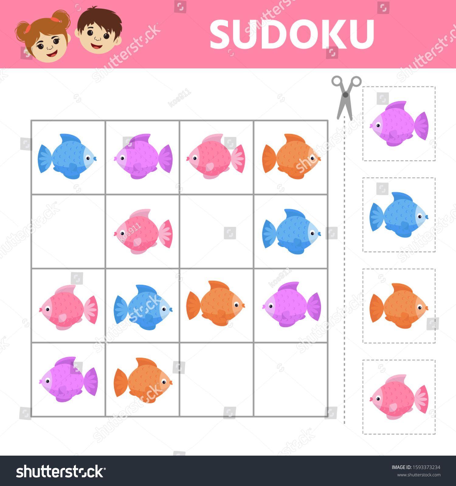 Education Logic Game For Preschool Kids Illustration Of