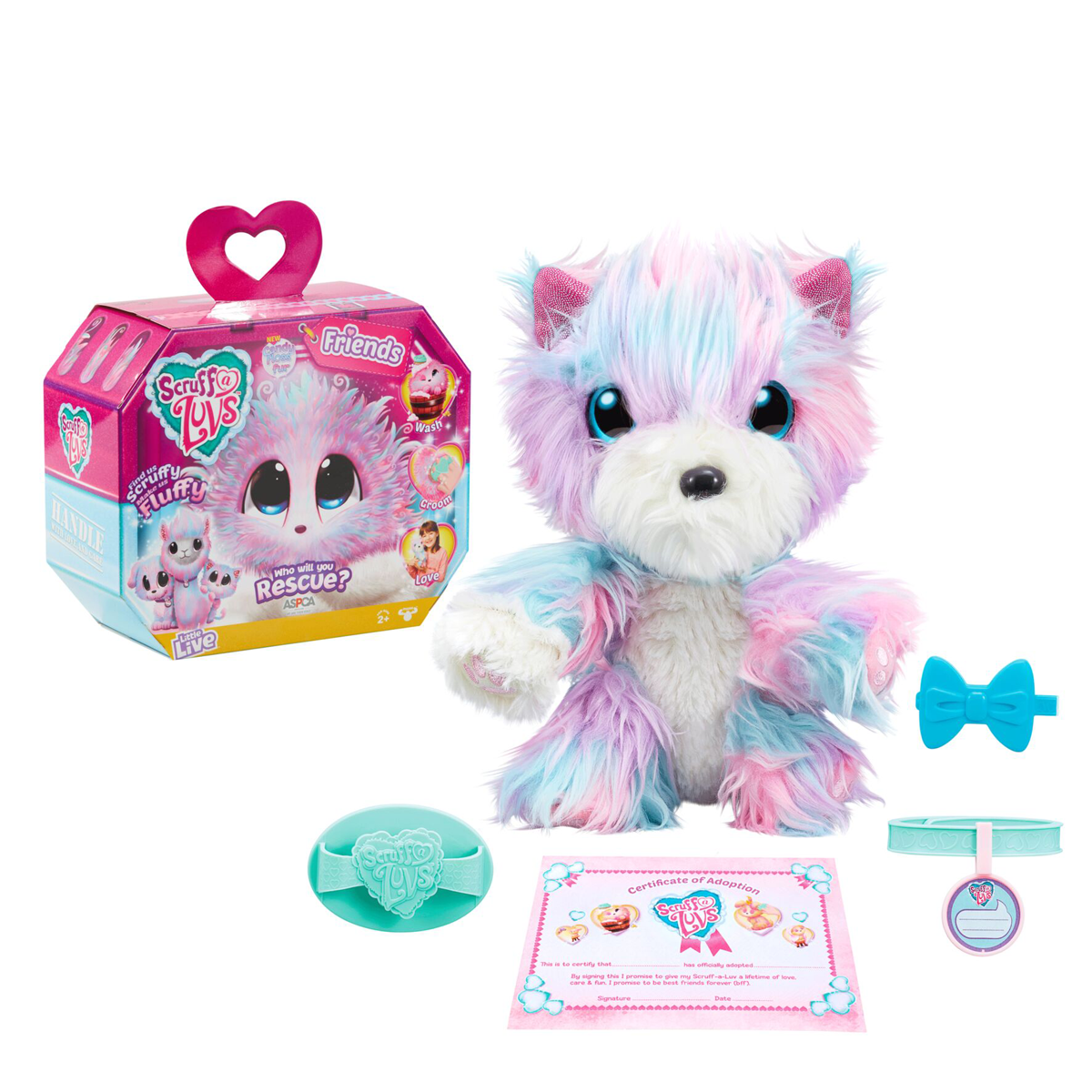 Scruff A Luvs Rescue Pet Candy Floss Styles Vary The Entertainer Popular Kids Toys Princess Toys Moose Toys