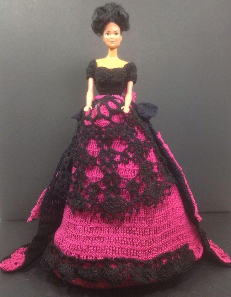 Barbie Crochet Ball Gown Patterns Free Old Vintage Barbie Dolls