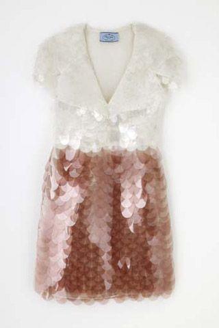 Sequin dress by Prada