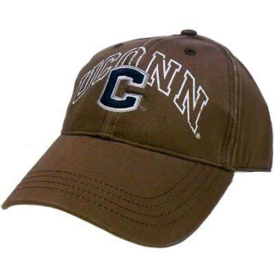 Ncaa Hat Cap Uconn Huskies University Connecticut Brown