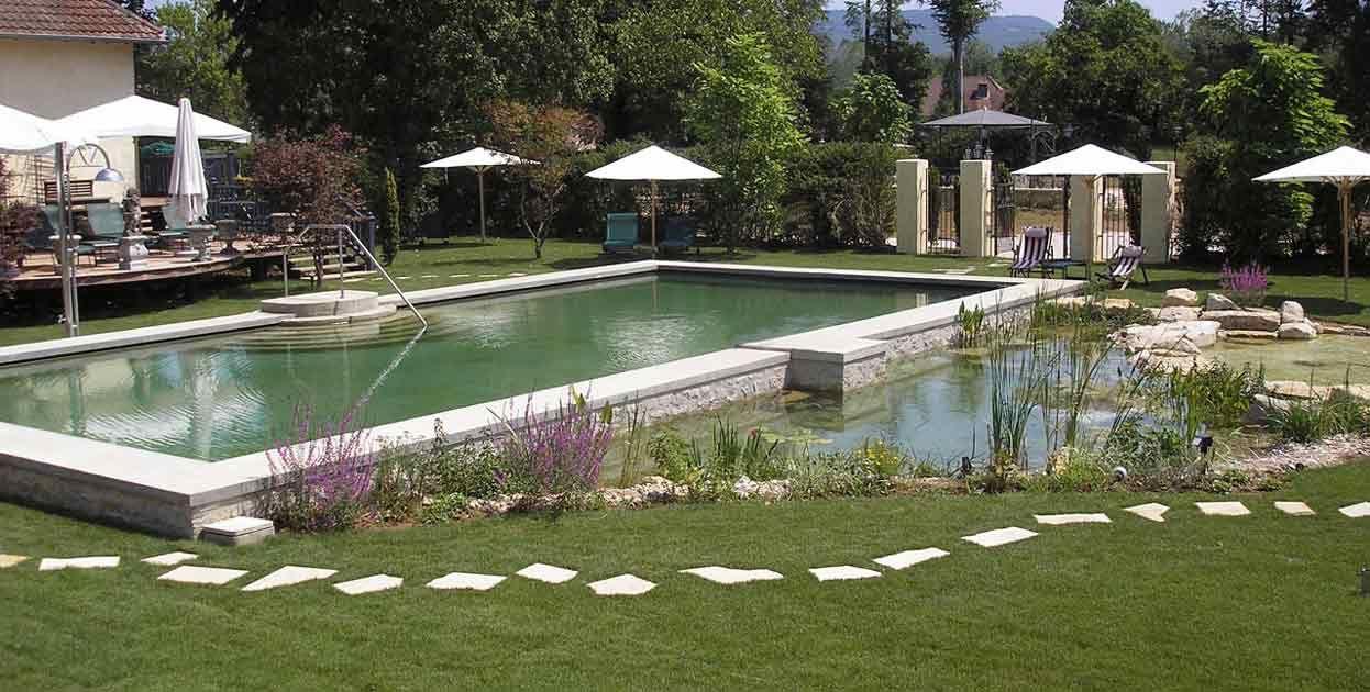 Las piscinas naturales también son conocidas como piscinas ecológicas o biopiscinas. Foto: Bionova.