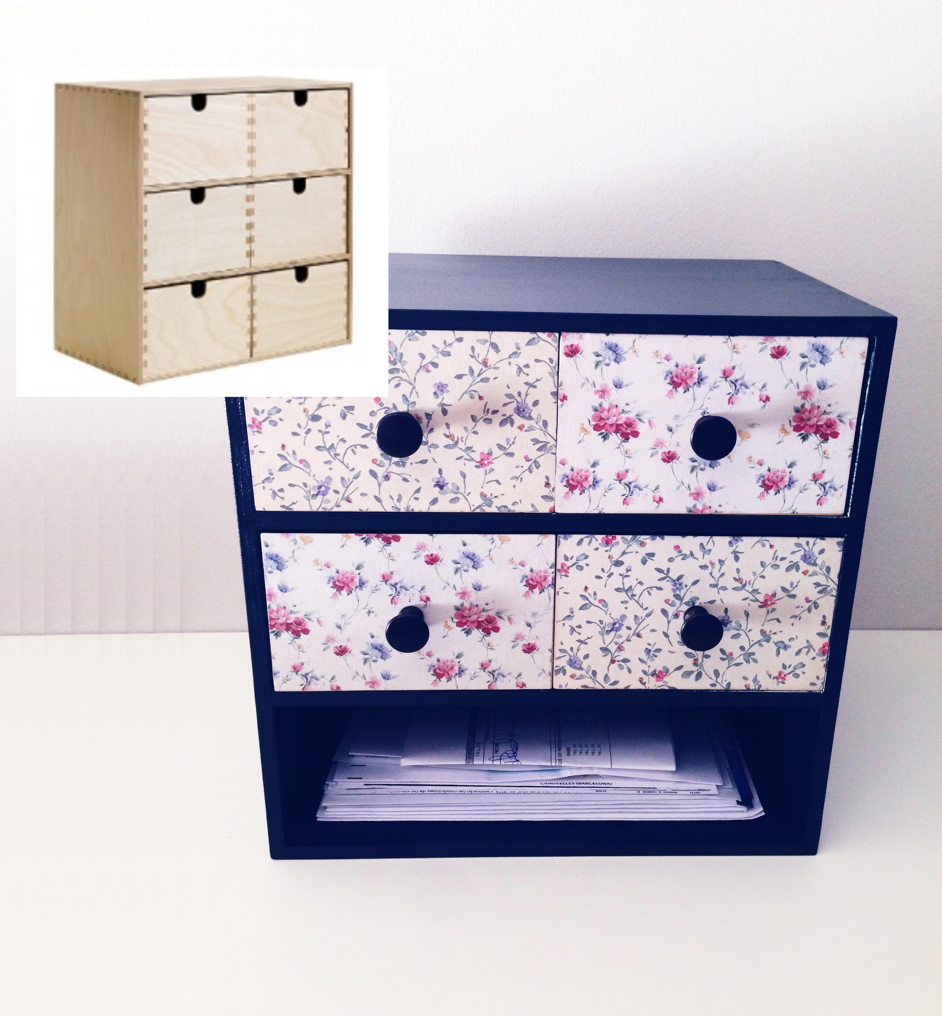 Personalised ikea mini chest of drawers minic moda de for Ikea holzkommode